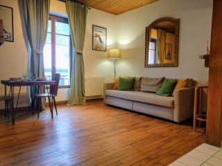 Chamonix Hyper Center 37sqm, view on MB, 1/4 ppl