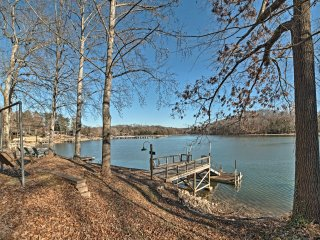 NEW! Lakefront 4BR Harrison Home w/Deck, Boat Dock