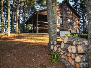 Bar Harbor Region Oceanfront Cabin on 20 Private Acres w/ 1 mile of Shoreline