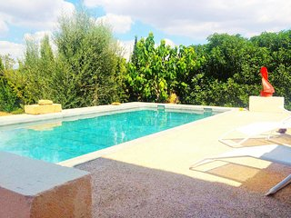 SON MORA- Villa in Campos- Private pool. BBQ-. Air conditioner. Unobstructed vie