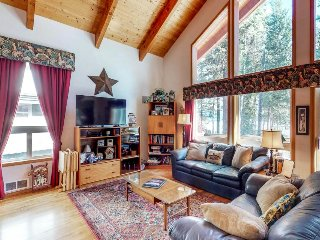 Lakefront cabin with a spacious deck and beautiful views - 1 dog welcome!