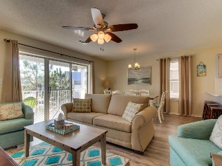 Contemporary beachside retreat with shared pool & tennis courts!