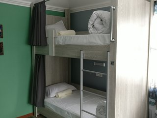 Mountain Hostel Almaty/Bedroom #3/Bunk bed #2