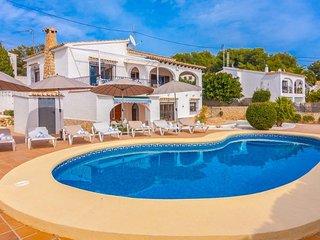 Villa Casa del Rull en Benissa,Alicante,para 10 huespedes