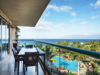 Maui Westside Prop. Honua Kai H509- Indoor Ocean Views - Wrap Around Lanai