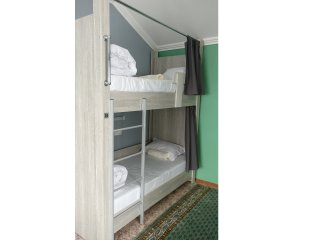 Mountain Hostel Almaty/Bedroom #3/Bunk bed #3