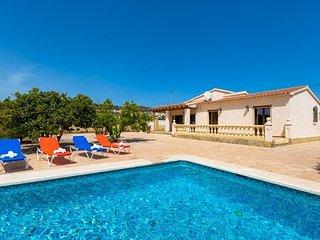 Villa Ismael en Calp,Alicante para 4 huespedes