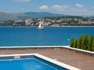 Acommodation Villas Sea Beach Trogir Split Island Croatia Pool Luxury vacation