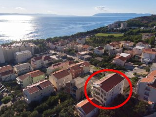 One bedroom apartment Tucepi, Makarska (A-14457-a)