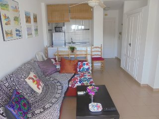 Apartamento un dormitorio, piscina comunitaria-pt