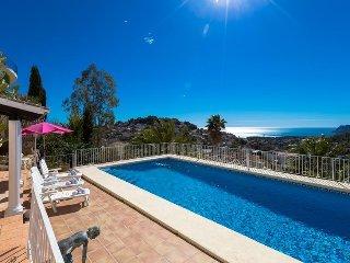 Villa Patricia en Benissa,Alicante,para 12 huespedes