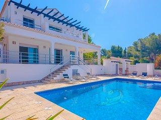 Villa Fustera en Benissa,Alicante para 12 huespedes