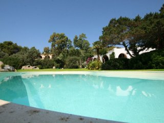 Luxury Villa with swimming pool 70 meters from the sea, in a park of 3000sqm