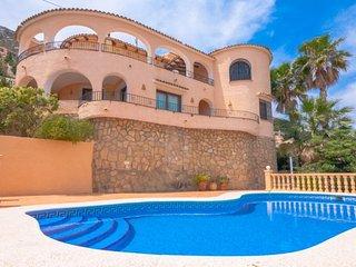 Villa Arcadien en Calp,Alicante para 6 huespedes