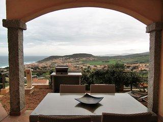 Domus Sarda - Baia - appartamento vista mare con giardino