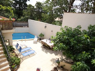 Amandier French gite for rent with pool, sleeps 6