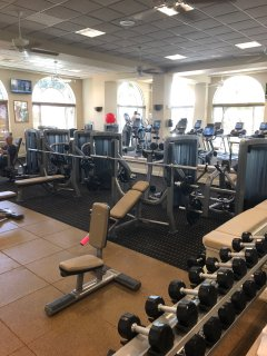 Fiddlers Creek Fitness Center is available