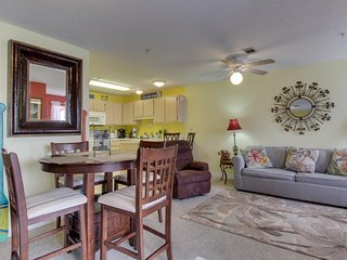 Bayview condo only steps from the beach w/ shared pool and peaceful location!