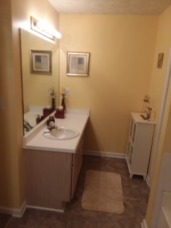 Master bathroom vanity #1