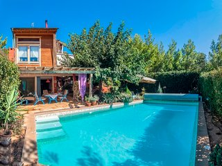 MANINA CHALET WITH POOL