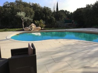 LS1-300 OUSTAU DI AURIHO, Nice holiday rental with heated private pool