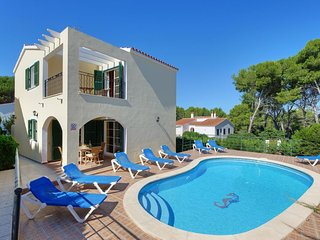 4 bedroom Villa in Cala Galdana, Balearic Islands, Spain : ref 5334298