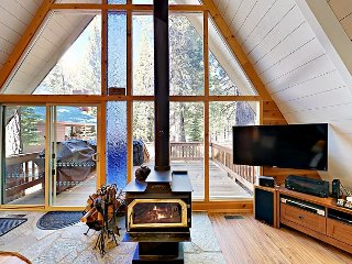 Brand New Listing! 4BR w/ Private Deck on Tahoe Donner Golf Course