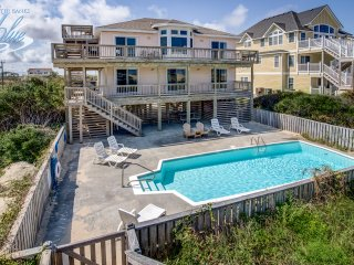 Mermaid's Lair | Oceanfront | Private Pool, Hot Tub | Nags Head