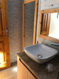 downstairs shower and toilet