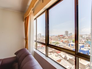Moderno departamento c/ vistas de la ciudad-Modern apartment w/views of the city