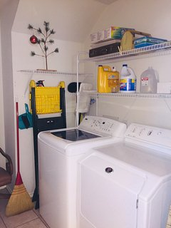 Utility room off of the kitchen.