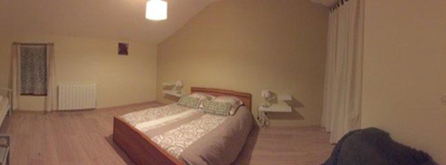 chambre 3 couchages, 1 lit en 140 et un lit une personne