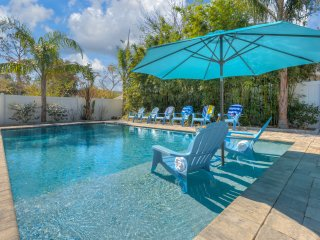 Luxury Beach House with Pool, Backyard Oasis, Game Room, Sleeps 16