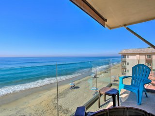 Beachfront Carlsbad Condo w/View -Walk to Village!