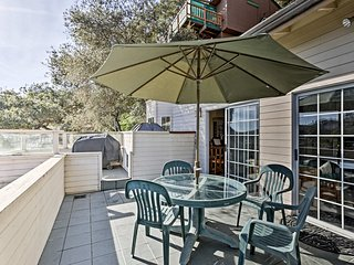 The property features 2 balconies with ocean views!