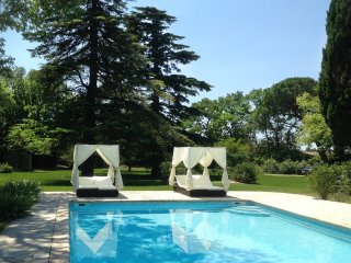 LS1-301 OUSTALADO, Beautiful Provencal Mas in Maussane les Alpilles