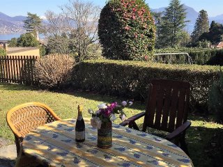 Camilla:  apartment with lake view and garden in the center of Baveno