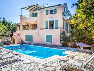 Tselentata Villa Sleeps 8 with Pool Air Con and WiFi - 5473233