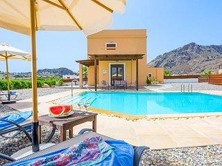 4 bedroom Villa in Lindos, South Aegean, Greece : ref 5400273