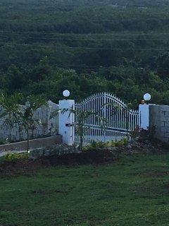 Entrance Gate with intercom