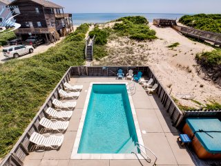 Glistening Sands | Oceanfront | Private Pool, Hot Tub