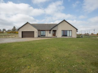 Large modern detached house with stunning views of the surrounding countryside