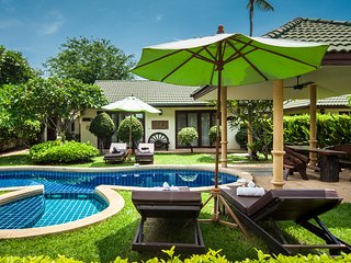 Idyllic Samui resort 3 bed room Deluxe  villa