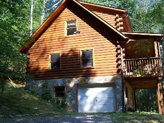 Skip's-Is a charming, log cabin in the heart of the mountains * Vogel Park!