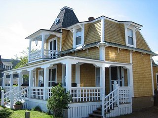 Five bedroom, in-town, Oak Bluffs home with water views!