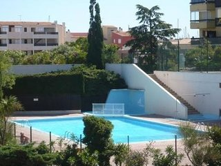T2 50m2 + piscine a  300m plages 6pers