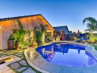 El Mirage Home w/Private Pool, Spa, Sauna & More!