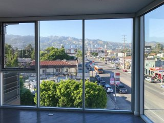 Corner unit with an amazing view of Hollywood Hills