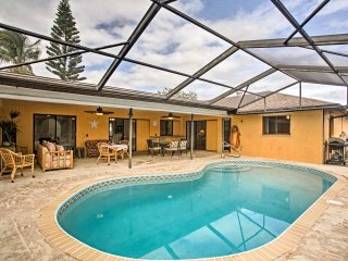 NEW! 3BR Cape Coral House w/ Private Lanai Pool!