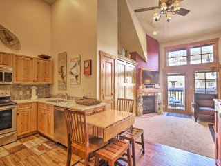 Cozy Studio w/ Hot Tub Access in Keystone Village!
